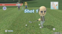 Screenshot for Wii Sports Club - Golf - click to enlarge
