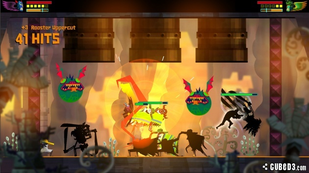 Screenshot for Guacamelee! Super Turbo Championship Edition on Wii U