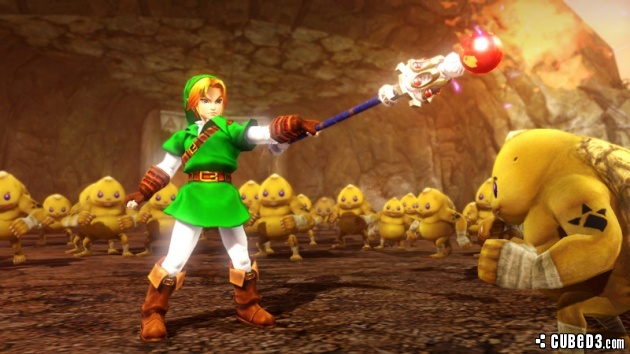 Image for More Striking Screenshots of Hyrule Warriors