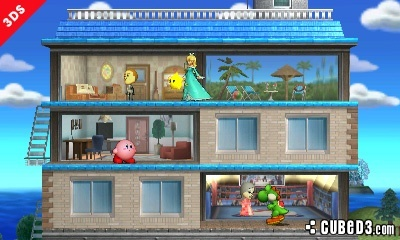 Image for Super Smash Bros for 3DS Gets Tomodachi Life Stage