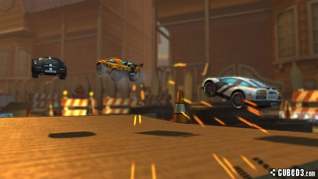 Screenshot for Super Toy Cars on Wii U eShop - on Nintendo Wii U, 3DS games review