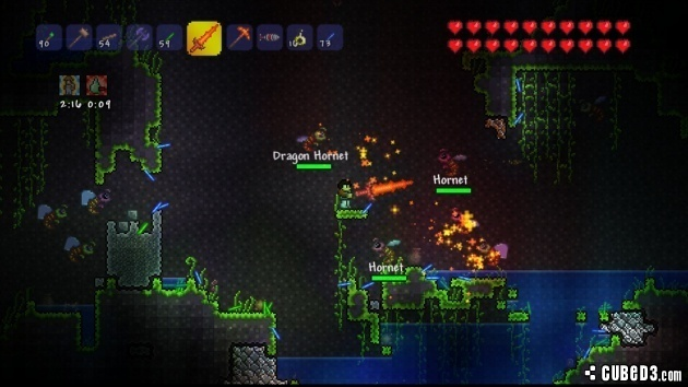 Terraria (PlayStation 3) Review - Page 1 - Cubed3