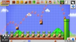 Screenshot for Super Mario Maker - click to enlarge