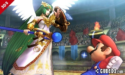 Screenshot for Super Smash Bros. (Hands-On) on Nintendo 3DS