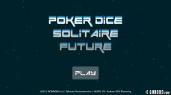Screenshot for Poker Dice Solitaire Future - click to enlarge