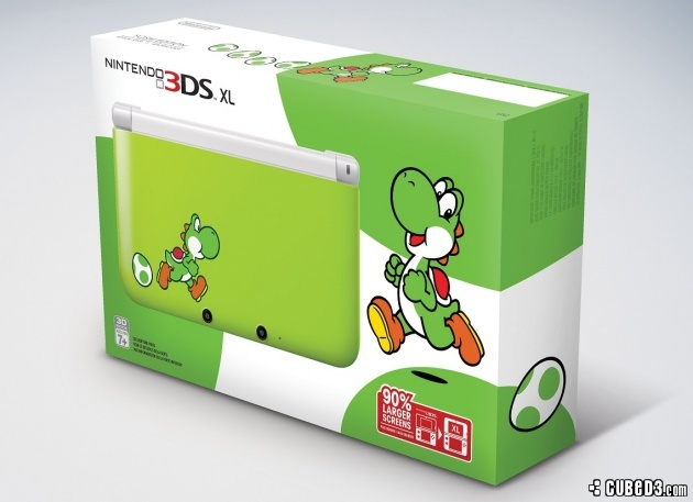Image for Join Yoshi with a new Limited Edition 3DS XL