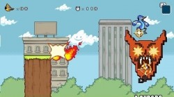 Screenshot for Regular Show: Mordecai and Rigby in 8-Bit Land - click to enlarge