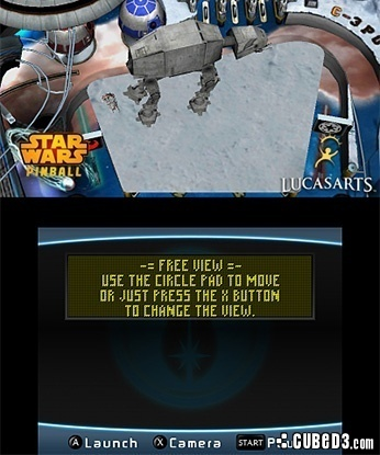 Screenshot for Star Wars Pinball 3D on 3DS eShop- on Nintendo Wii U, 3DS games review