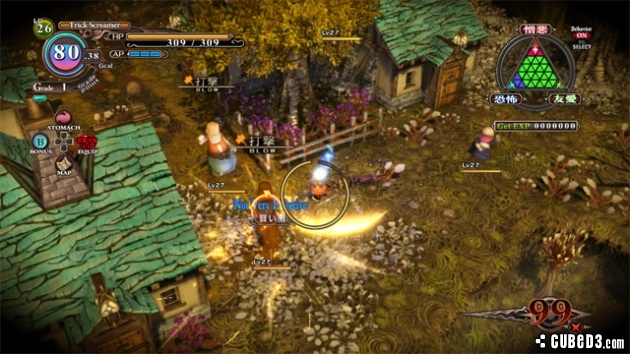 Screenshot for The Witch and the Hundred Knight on PlayStation 3