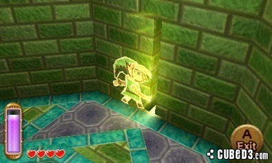 Screenshot for The Legend of Zelda: A Link Between Worlds on Nintendo 3DS- on Nintendo Wii U, 3DS games review