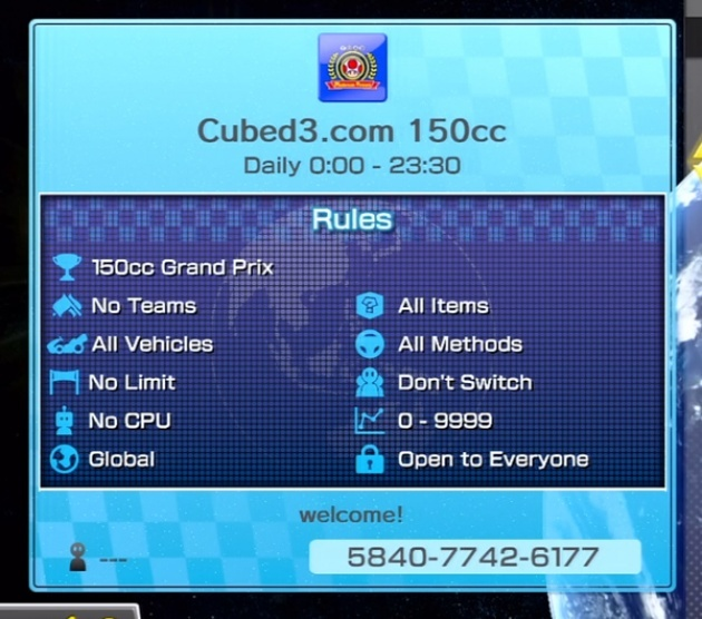 Image for Join the Cubed3 Mario Kart 8 Online Tournaments