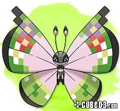 Image for Special Vivillon to be Distributed for GTS Record
