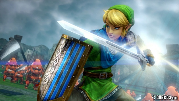 Screenshot for Hyrule Warriors (Hands-On) on Wii U