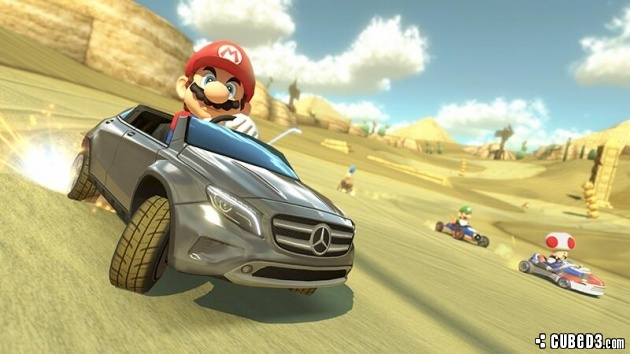 Image for Mario Kart 8 Gets First DLC with Mercedes Promotion