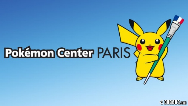 Image for Pokémon Center to Open in Paris this June