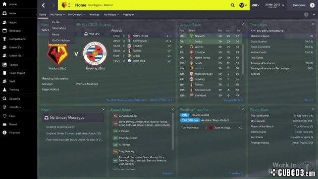 Screenshot for Football Manager 2015 on PC