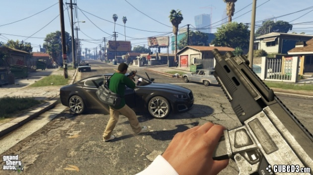 Screenshot for Grand Theft Auto V on PlayStation 4