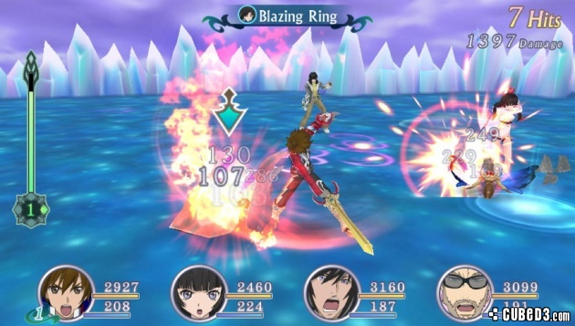 Screenshot for Tales of Hearts R (Eyes-On) on PS Vita