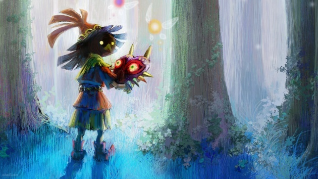 Skull Kid Wallpaper: News: Download Zelda: Majora's Mask 3D Wallpapers Page 1