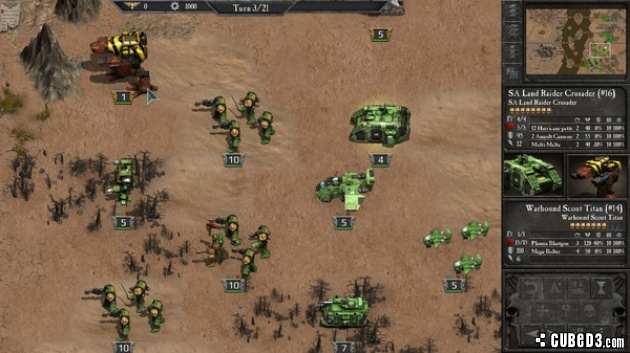 Screenshot for Warhammer 40,000: Armageddon on PC