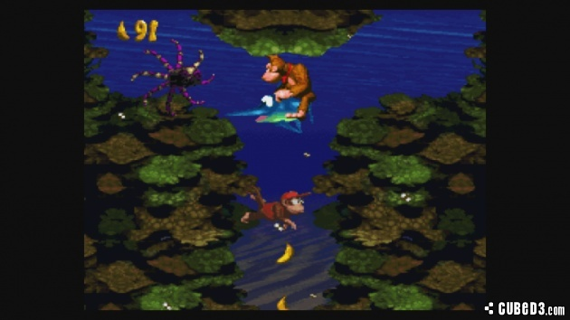 Screenshot for Donkey Kong Country on Super Nintendo