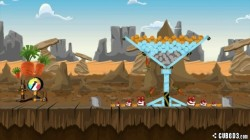 Screenshot for Angry Bunnies: Colossal Carrot Crusade - click to enlarge
