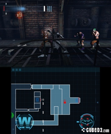 Screenshot for Batman: Arkham Origins Blackgate on Nintendo 3DS