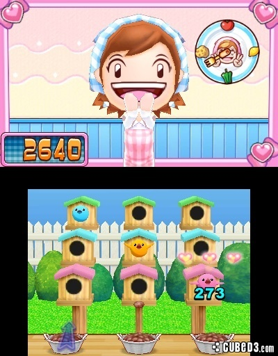 Screenshot for Cooking Mama 5: Bon Appétit! on Nintendo 3DS