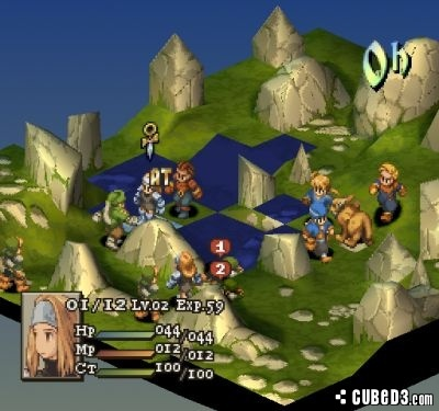 Screenshot for Final Fantasy Tactics on PlayStation