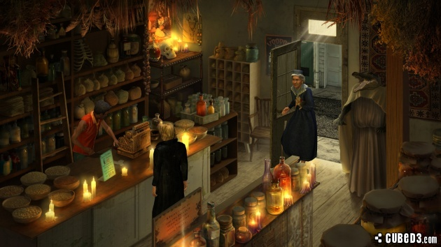 Screenshot for Gabriel Knight: Sins of the Fathers 20th Anniversary Edition on PC