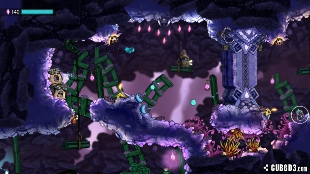 Screenshot for Beatbuddy: Tale of the Guardians on Wii U