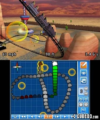 Screenshot for Coaster Creator 3D on Nintendo 3DS