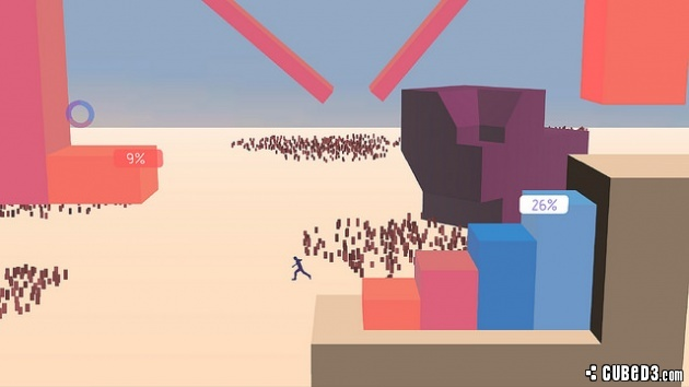 Screenshot for Metrico on PS Vita