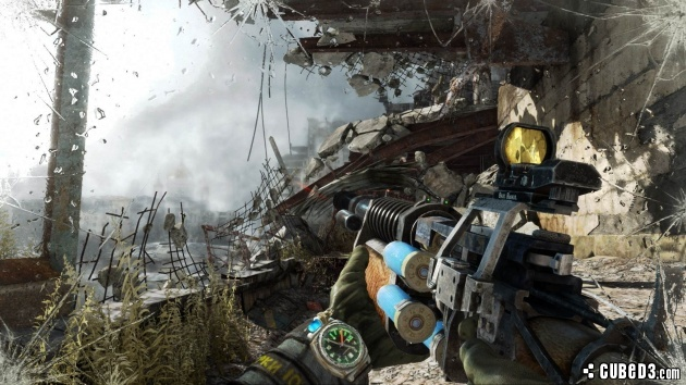 Screenshot for Metro: Last Light Redux on PlayStation 4