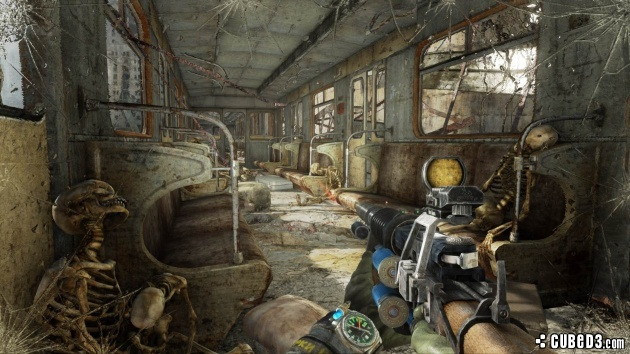 Screenshot For Metro Last Light Redux