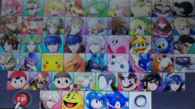 Image For Characters Leak Early Ahead Of Super Smash Bros 3DS Japan Launch