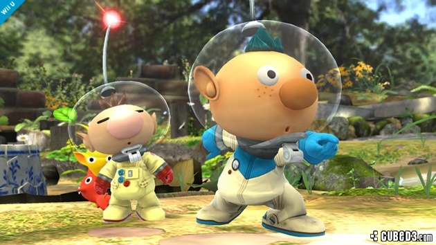 Image for Alph of Pikmin 3 Fame Joins the Arena in Super Smash Bros.