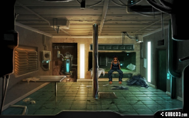 Screenshot for Technobabylon (Hands-On) on PC