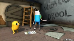 Screenshot for Adventure Time: Finn and Jake Investigations - click to enlarge