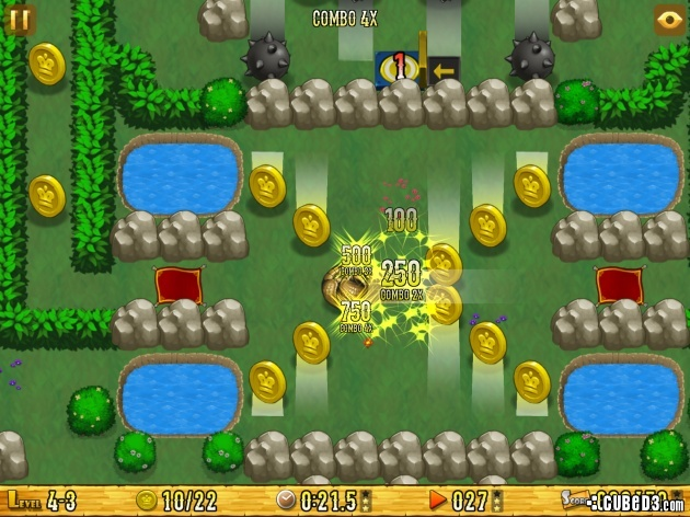 Screenshot for Armadillo Gold Rush on iOS