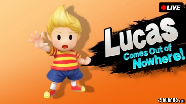 Image for Lucas Rejoins the Smash Bros. Fight