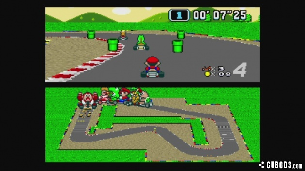 Screenshot for Super Mario Kart on Super Nintendo