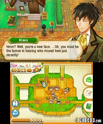 Screenshot for Story of Seasons on Nintendo 3DS