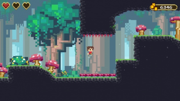 Screenshot for Adventures of Pip on PlayStation 4