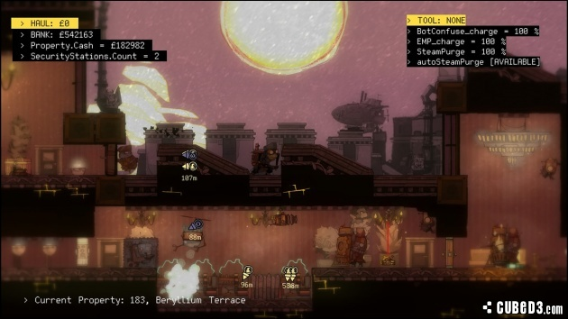 Screenshot for The Swindle on PlayStation 4