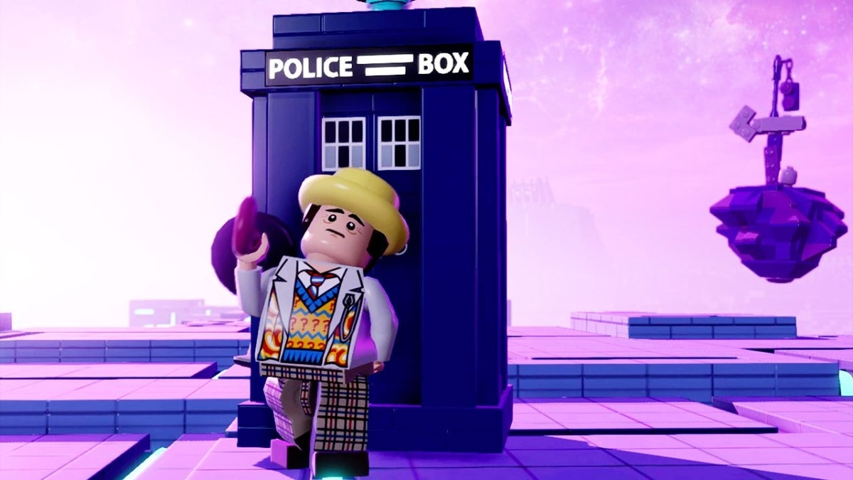Screenshot for LEGO Dimensions: Doctor Who on Wii U