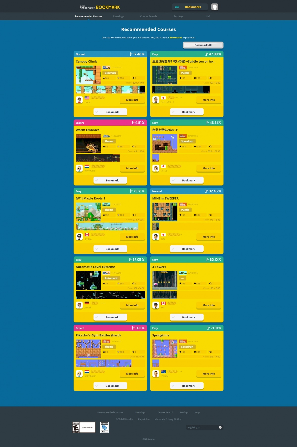 Image for Super Mario Maker Site is Now Live