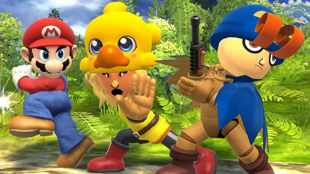 Image for Geno, Tails and Knuckles are in Smash Bros. as Costumes