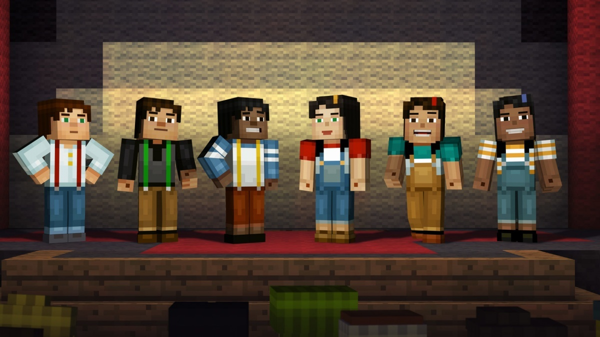 Screenshot for Minecraft: Story Mode - Episode 1: The Order of the Stone on Xbox One