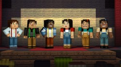 Screenshot for Minecraft: Story Mode - Episode 1: The Order of the Stone - click to enlarge